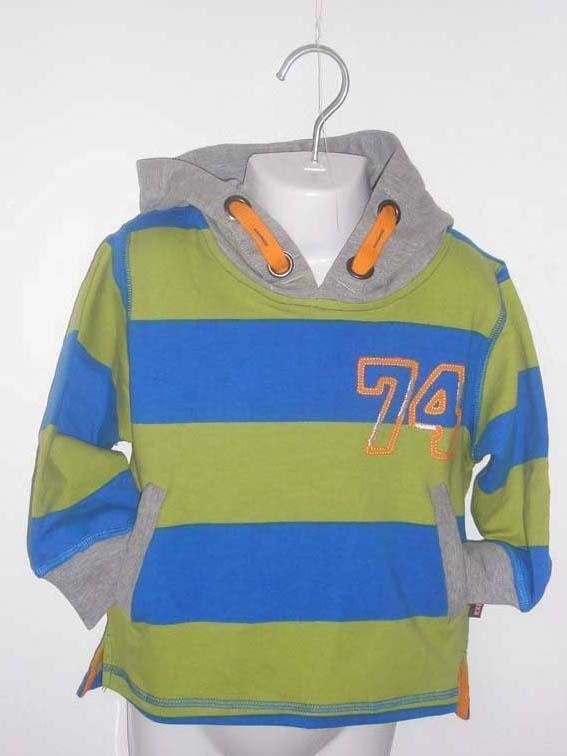 Trui  Blauw/ Groen (K0225)